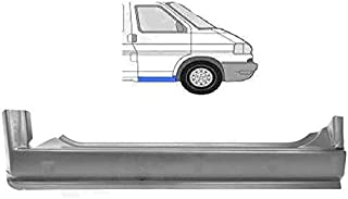 Schweller Außenschweller Einstiegrepraturblech unter der Tür vorne seitlich LINKS Einstieg Reparatur Blech passend für T4 Transporter Bus Kasten Pritsche