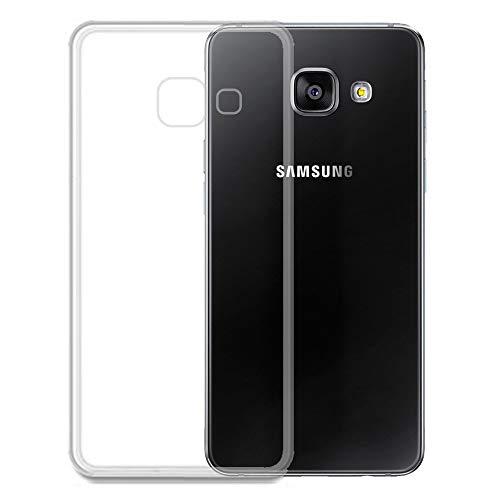 Roar Handy Hülle Transparent aus Silikon für Samsung Galaxy A3 2016 Handyhülle Ultra Slim, Dünn, Durchsichtig, Silikon Schutzhülle für Samsung Galaxy A3 2016