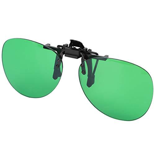 Vbest life Gafas de luz de Planta LED, corrección de Color Anti-Rojo luz Verde luz Azul luz miopía Clip Gafas protección óptica