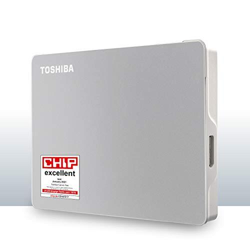 Toshiba Canvio Flex 1 TB Portable External Hard Drive for Mac, Windows PC...