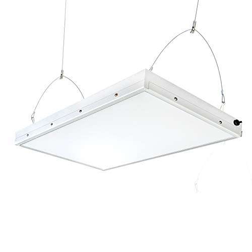LED High Bay Light,2FT Linear,165W with 19,8000 Lumens,5500K Daylight White,500W-600W HPS Equivalent,Great High Bay LED Shop Lights for Warehouse Garage Commercial Lighitng (2ft 165Watt)