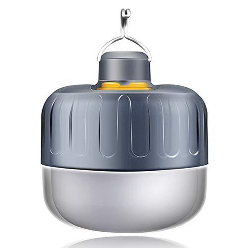 SFGSA Camping linterna luces linterna táctica LED brillante lámpara de emergencia tienda de campaña para jugar al aire libre campamento senderismo pesca portátil