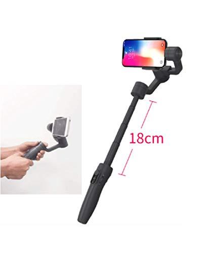 YANGSANJIN Schaalbare handheld 3-assige stabilisator pan/tilt voor smartphone iphone X anti-shake selfie stick, iOS/Android APP voor automatische panorama, vertraging en face tracking