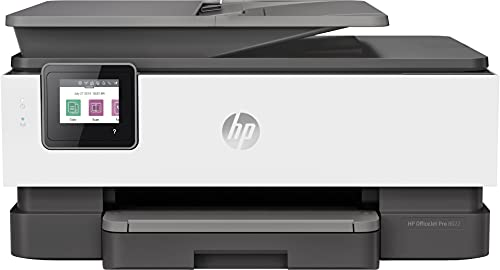 HP OfficeJet Pro 8022 Imprimante Multifonction (HP Instant Ink, imprimante, Scanner, copieur, fax, Wi-FI, LAN, Duplex, HP ePrint, Airprint, Basalt