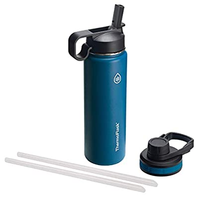 reusable water bottles with straw