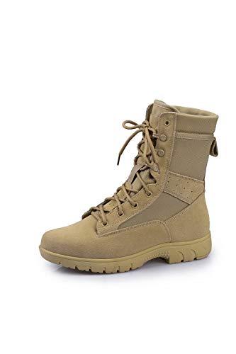 CWM Herren Militärstiefel Armee Combat Tactical Boots Arbeitsstiefel Wanderschuhe Trekkingschuhe Outdoor Einsatzstiefel