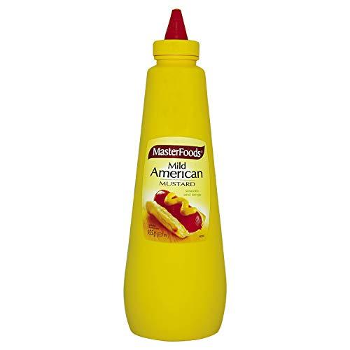 Masterfoods salsa di senape americana leggera 920ml