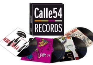 4 LP BOX ** CALLE 54 RECORDS ** BEBO VALDES & CIGALA (LAGRIMAS NEGRAS Y SUITE CUBANA) NIÑO JOSELE (PAZ) Y VARIOS DE JAZZ LATINO ** COVER / NEAR MINT ** 4 LP / MINT ** SONY / CALLE 54 2009