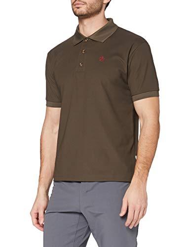 FJÄLLRÄVEN Crowley Pique Shirt M T-Shirt Homme Dark Olive FR: XL (Taille Fabricant: XL)