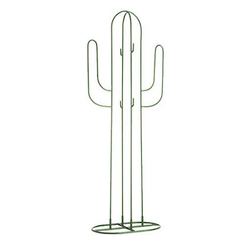 Perchero de Hierro Forjado de Cactus, Estructura de Metal,...