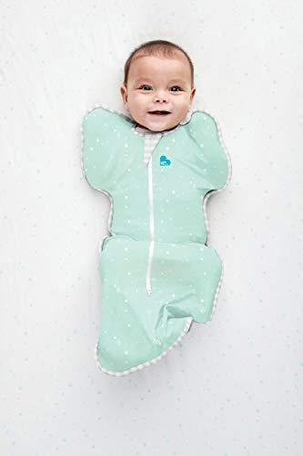 【スワドルアップSwaddleUp】ライト(春夏秋用/ミント/Small)赤ちゃんの夜泣き対策に奇跡のおくるみ[日本正規輸入品]出産準備・出産祝い・ベビーグッズ・新生児・乳児・ネントレ・ギャン泣き・モロー反射