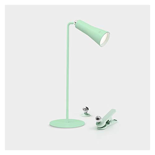 Lampara Mesilla Lámpara de escritorio de control táctil Lámpara de escritorio LED con 3 niveles de atenuación Multi Function Cargador Enchufe en la lámpara de mesa de doble propósito, 4000K Luz blanca