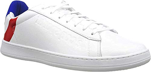 Le Coq Sportif Unisex-Erwachsene Break COCARDE Sneaker, Weiß Optical White Tricolor, 42 EU