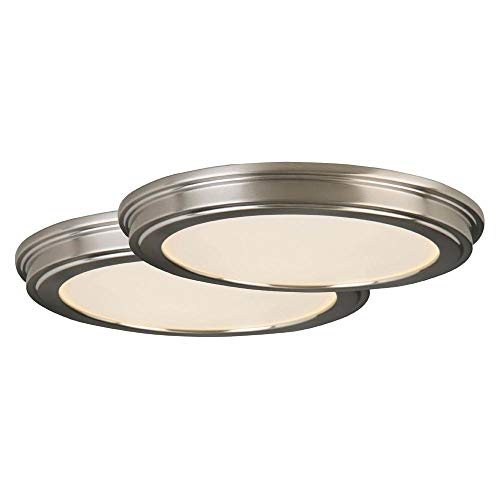 Commercial Electric 24-Watt Brushed Nickel Integrated 13