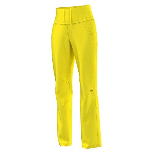 adidas Damen Performance Kletterhose Hose, Gelb, 40