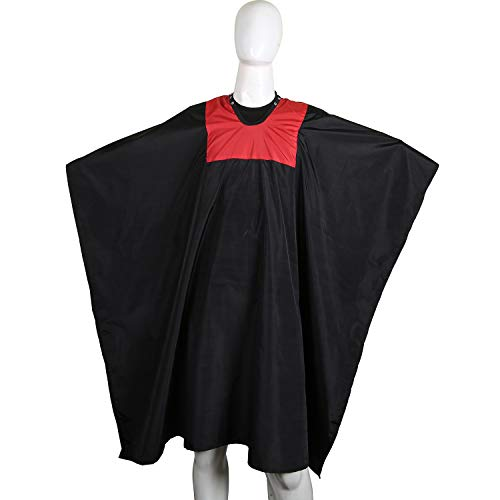 Professional Barber Cape Best for Men Women Red And Black Cape