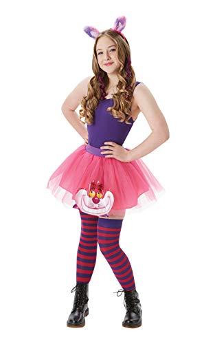 Rubies - Juego de accesorios para gato de Cheshire de Disney, alas y tutú, talla para adultos de 12 años en adelante