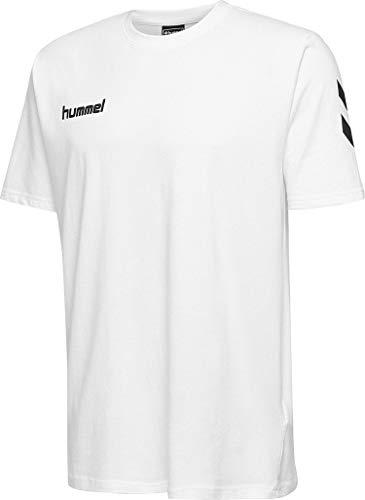 hummel Herren HMLGO Cotton T-Shirts, Weiß, XL