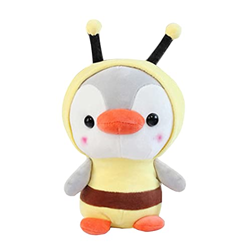 Wlabe - Peluche de pingüino de peluche suave y suave, para bebés y niños
