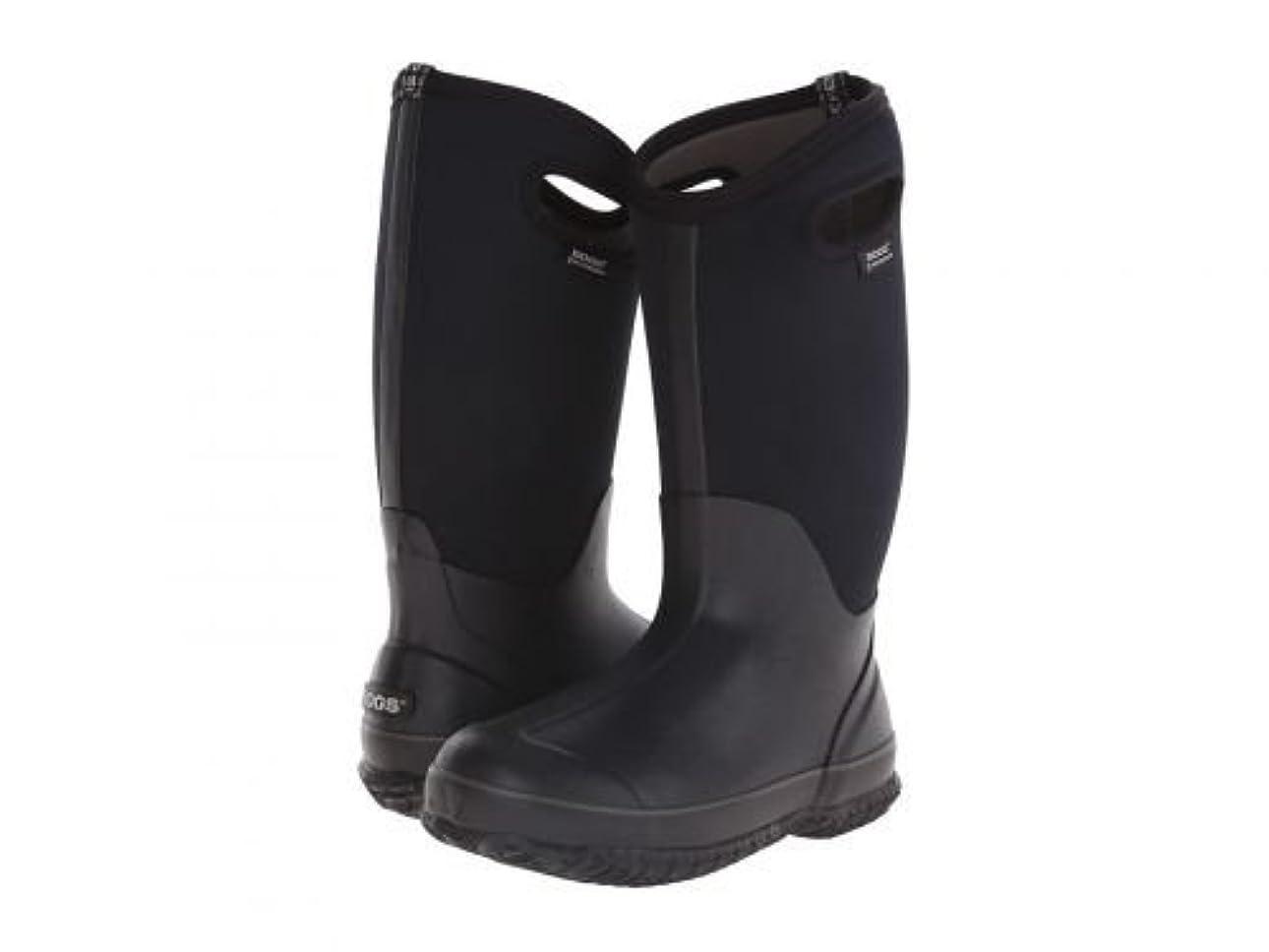 溝ましい他のバンドでBogs(ボグス) レディース 女性用 シューズ 靴 ブーツ スノーブーツ Classic High Handles - Black 6 D - Wide [並行輸入品]