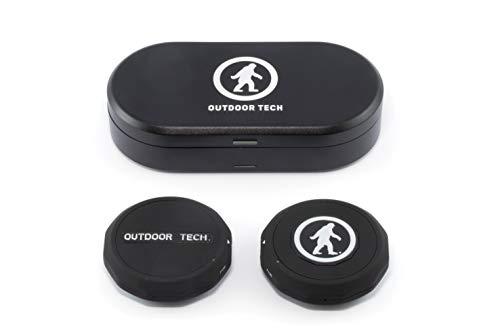 Outdoor Tech OT0062-B Chips Ultra Kabelloses Bluetooth-Audio-Headset für Skihelme und Snowboardhelme, Schwarz