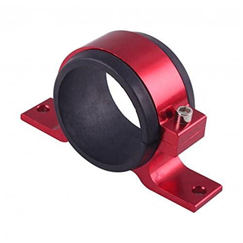 Aouoihnb Soporte de fijación de la Bomba de Combustible de Acero Inoxidable de Acero Inoxidable Adecuado para Bosch 044 Bomba Externa (Color : Red)
