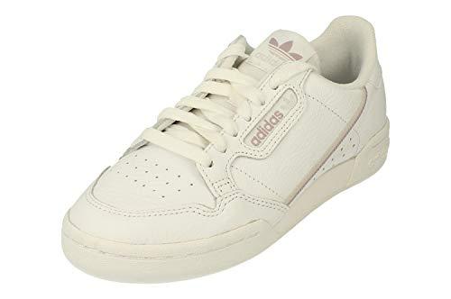 adidas Mujer Continental 80 W Zapatillas Blanco, 36