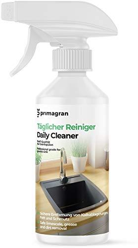 Produkt zur täglichen Pflege 250ml, Reiniger für Granitspüle, Pflegemittel mit bequemer Sprinkler für Küche, Reinigermittel von Primagran