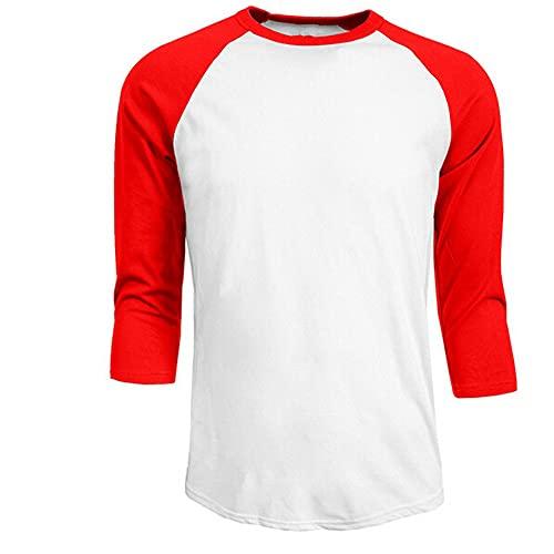 Camiseta de los Hombres Camiseta de Manga Casual de los Hombres Hombre