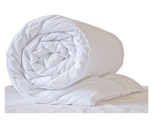 16.5 tog Winter Warm Duvet Quilt Double Size Hollowfibre Thick Energy Efficient Duvet from Lancashire Bedding