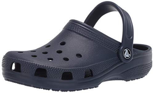 Crocs Women's Classic Clog|Comfortable Slip on Casual Water Shoe, Navy, 13 Women/11 Men