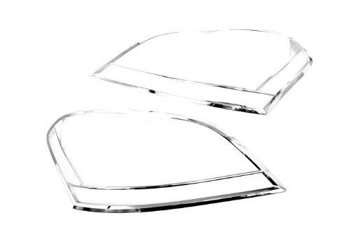 Autochrome Chrome Head Light Coque – pour Merecedes Benz W164 ml Class