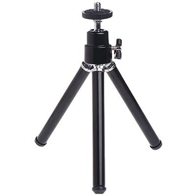 Sixsons Camera Tripod - Flexible Universal for 1/4 Adapter Laser Camera Rotation Holder Base Metal Aluminum Tripod Stand Holder
