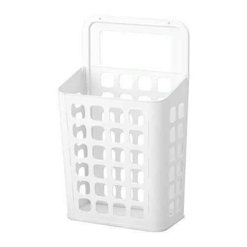 2 cubos de basura Xivea Variera, color blanco