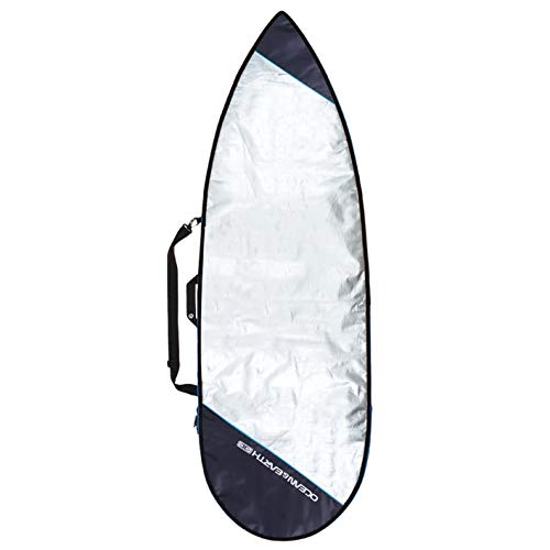 Ocean & Earth Barry - Bolsa para Tabla de Surf Unisex, 6'0, Plateado