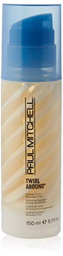Paul Mitchell Twirl Around - Definierende Styling Cream mit Anti-Frizz Effekt, Haar-Creme für widerspenstige Locken und Wellen - 150 ml
