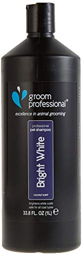 Groom Professional Bright Shampooing pour Pelage Blanc 1 l