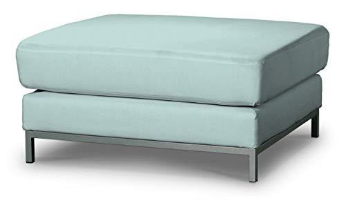 Dekoria Kramfors Hockerbezug Sofahusse passend für IKEA Modell Kramfors hellblau