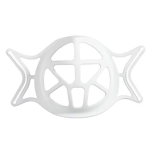 Hellery 3D Staffa per il Comfort di Maschera Che Indossa, Maschera Interno del Telaio di Supporto, tenere Tessuto off Bocca per Creare Più Spazio per - Silisone Staffa
