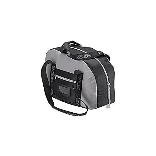 SPARCO S003112NGR Bolsa Porta Cascos Noir/Gris Femme, Unique