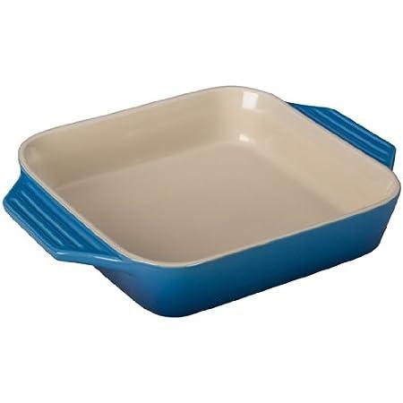 "Le Creuset Stoneware Square Dish, 2.2 qt. (9.5""), Caribbean"