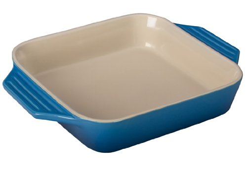 Le Creuset Stoneware Square Dish, 2.2 qt. (9.5'), Caribbean