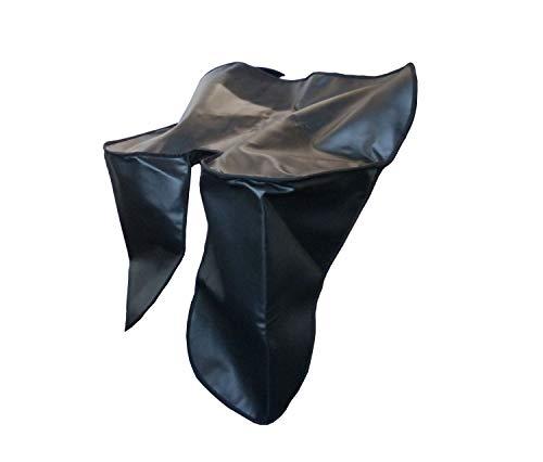 Knieschutzdecke, schwarz - für S50, S51, S70 - Befestigung mittels Schnallriemen zwischen Tank und Sitzbank
