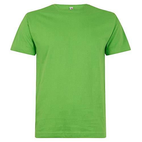 Logostar - Basic T-Shirt - Übergrößen bis 15XL / Lime, XL