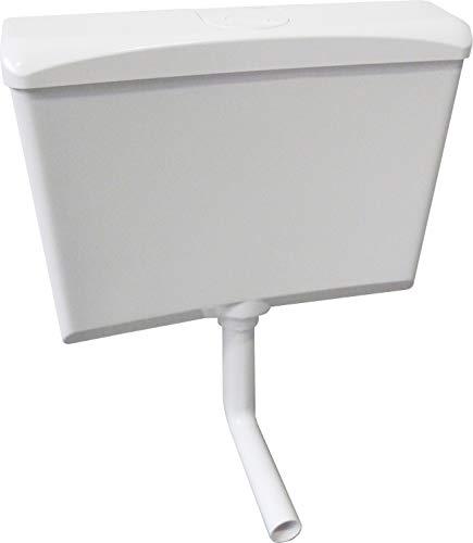 Spülkasten Wisa 870 für Aufputz-Montage weiß mit Spül-Stop-Funktion Spülmenge 6 - 9 Liter schwitzwasserisoliert