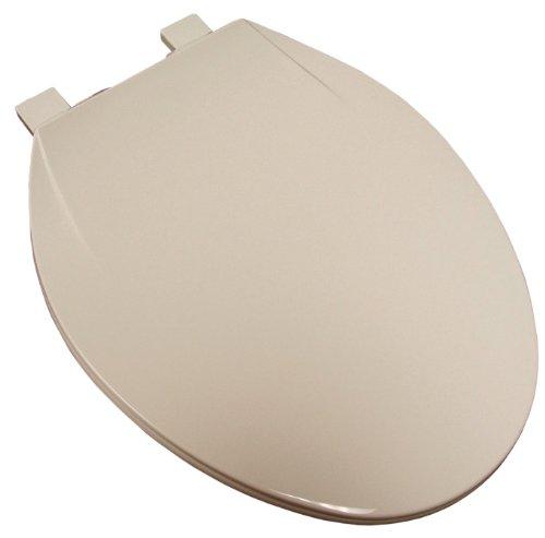 Plum Best C5B3E1-00 Elongated Plastic Toilet Seat, White