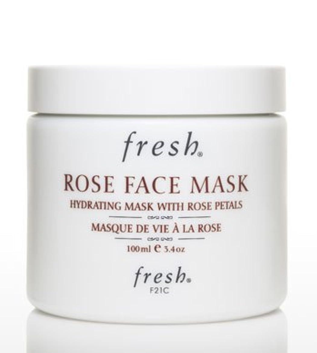 ステンレスコール乱すFresh ROSE FACE MASK (フレッシュ ローズフェイスマスク) 3.4 oz (100g) by Fresh for Women