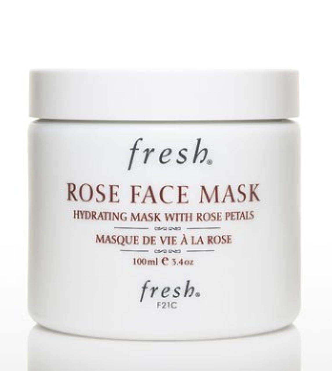 ベルファーザーファージュ植物のFresh ROSE FACE MASK (フレッシュ ローズフェイスマスク) 3.4 oz (100g) by Fresh for Women