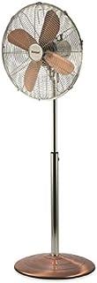 Kooper 2193270 - Ventilador de pie, 50 W, 140 cm, aspas 40 cobre/cromado