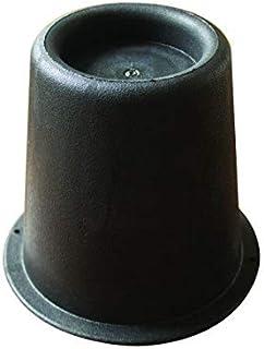 Bed- en stoelverhogers van 14 cm, Pack 4 stuks, Zwart, Mobiclinic